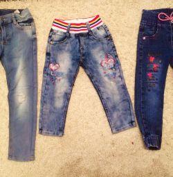 Jeans 2-5 ani