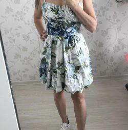 Nou rochie de bumbac, fusta valanchik🔥 Italia