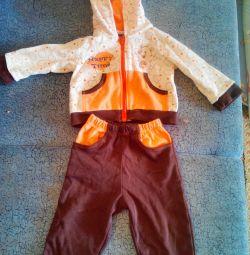 Детский костюм 3-6 мес.