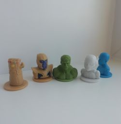 Erasers 2 / Five-Point Toys
