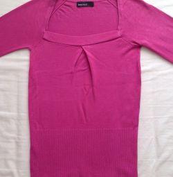 Пуловер розовый