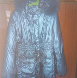 Jacket for a girl. Winter
