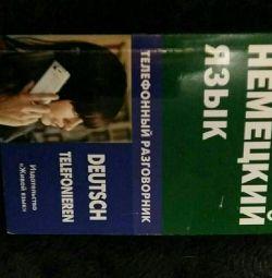 Phrase book in German.