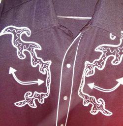 Πουκάμισα μπλούζα της Καλιφόρνιας
