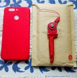 Cover + holder / carbine Huawei Nova 2 Plus