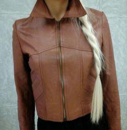 Jachetă din piele Italia