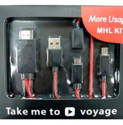 HDMI cord - micro USB