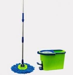 Sistem de curățare a umedelor pe calea verde