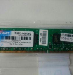DDR2 PATRIOT 1Gb RAM