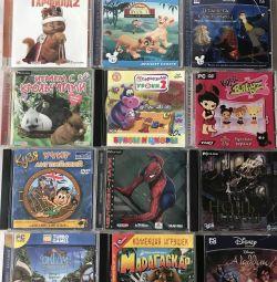 Диски PC CD (гри для дітей) 💽🖥