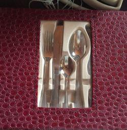 Σετ μαχαίρια κουτάλι πιρούνι
