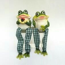 Frog with soft legs 6 * 6 * 17 cm