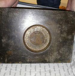 Blacksmith stamp for hammer or anvil