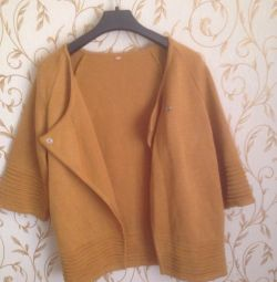 Warm women's cardigan