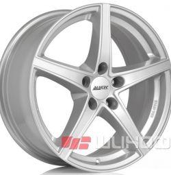 Колесные диски Alutec Raptr 6.5x16 PCD 5x100.0 ET 48 DIA 56.10 Polar Silver