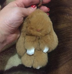 The keychain of the bunny