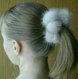 Piele de păr de blană