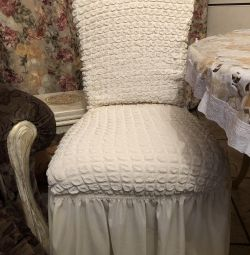 New chair covers will decorate your home