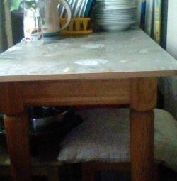 Tabelul + 4 scaune