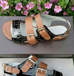 Noua piele Sandals din Brazilia