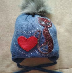 Cap second-hand winter for the girl of river 44-46