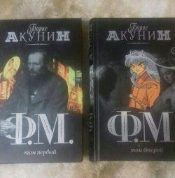 "Boris Akunin. Romanul ""F. M."" 2 volume"