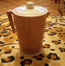 Coffee pot electric.