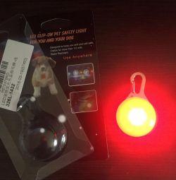 Köpek için anahtarlık ışığı
