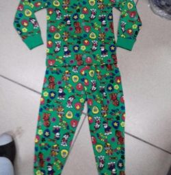 New pajamas for 6 and 3 years