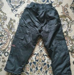 Pants for children 4-5 years