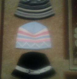 Hats are in excellent condition,