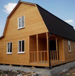 Frame-shield houses.