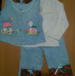 Three-piece suit for 2-3 years