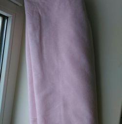 Light pink cotton fabric