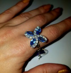 Ring. 925 sterling silver