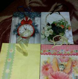 Τσάντες δώρων για δώρα