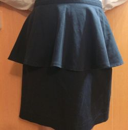 Skirt with Basques