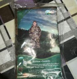 Costum protector pentru umiditate. Unul nou. Dimensiunea 56