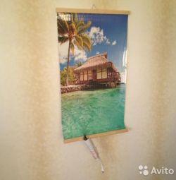 Flexible wall heater Bungalow / Lake