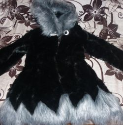 I will sell a new fur coat
