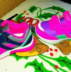 Malyavka sneakers on girls