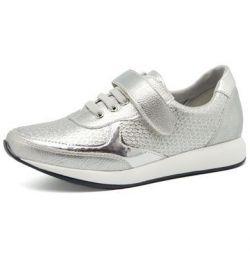 кросівки сріблясті