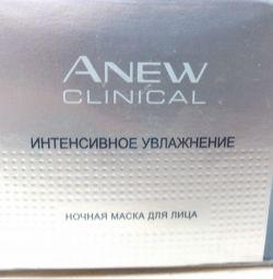 Маска для лица Avon с гиалуроновой кислотой 50мл
