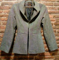 Пальто сіре жіноче
