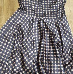 Платье женское,шелк