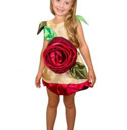 Детский карнавальный костюм Розочка