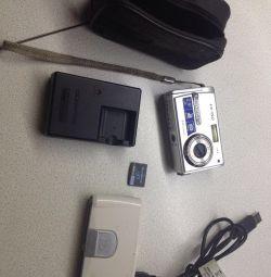 Olympus fe-150 dijital kamera + adaptör