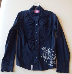 New blouse Silver sun 128