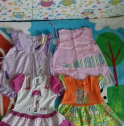 Dresses for all 100 rubles