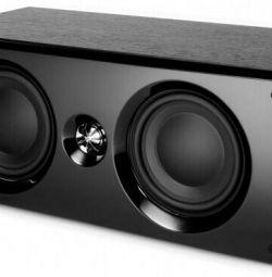 Ακουστική του κεντρικού καναλιού KEF C6LCR Black